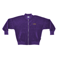 Velour Spirit Bomber Jacket