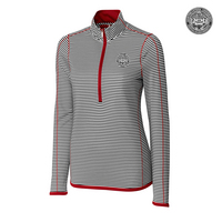Cutter & Buck Long Sleeve Quarter Zip Trevor Stripe (Online Only)