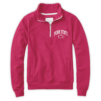 Red Shirt Womens Quarter Zip