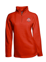 J.America Womens Fleece Quarter Zip
