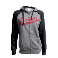 Womens Buckeye Glitter French