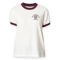 League Freshy Camp Ringer T Shirt