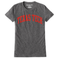 Red Shirt Short Sleeve Crew Neck TShirt