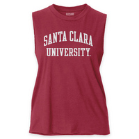 Red Shirt Muscle Tank