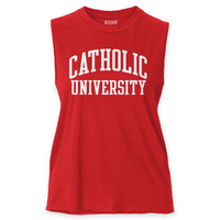 Red Shirt Muscle Tee