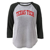 Red Shirt Baseball Tee