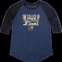 Blue 84 Three Quarter Sleeve Triblend T Shirt