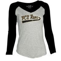 Retro Brand Rayon Raglan Long Sleeve T Shirt