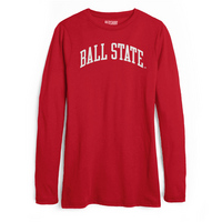 Red Shirt Long Sleeve Tee