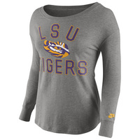 Nike LSU Womens Rewind Long Sleeve Top