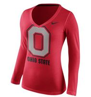 Nike Womens Long Sleeve Vneck Tee