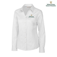 Cutter & Buck Ladies Epic Easy Care Fine Twill Shirt (Online Only)
