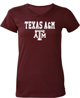 Texas A&M Aggies Utrau Women's Baby Jersey T-Shirt