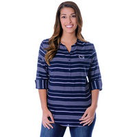 UG Apparel Stripe Tunic  Relaxed Fit