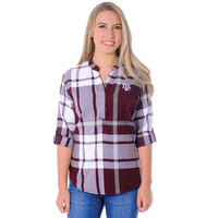 UG Apparel Relaxed Fit Plaid Tunic