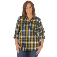 UG Apparel Relaxed Fit Plaid Boyfriend Shirt