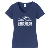 Field Hockey Short Sleeve Vneck Womens Tee (Online Only)