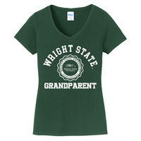 Grandparent Short Sleeve Vneck Womens Tee (Online Only)