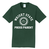 Proud Parent Short Sleeve Crewneck Womens Tee (Online Only)