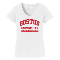 Communications Short Sleeve Vneck Womens Tee (Online Only)