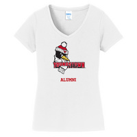Alumni Short Sleeve Vneck Womens Tee (Online Only)