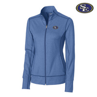 Cutter & Buck Drytec Ladies Topspin Full Zip (Online Only)