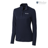 Cutter & Buck Ladies Belfair Pima Half Zip (Online Only)