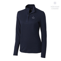 Cutter & Buck Long Sleeve Pima Belfair Half Zip Mock