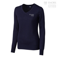 Cutter & Buck Ladies Douglas V Neck Sweater (Online Only)