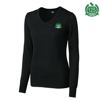 Cutter & Buck Ladies Vneck Sweater (Online Only)