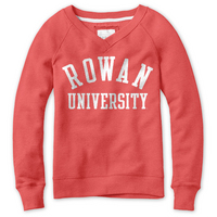 Red Shirt Womens Crew