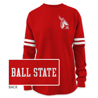 Red Shirt Ra Ra Sweatshirt