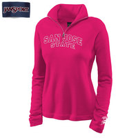 Jansport Womens Newbury Quarter Zip Pullover Sweatshirt
