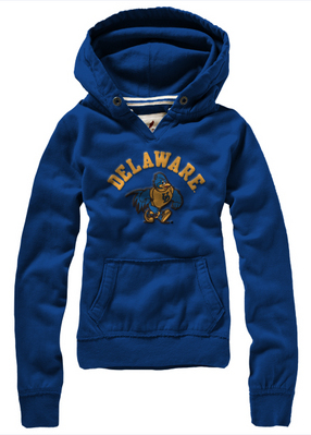 Delaware Blue Hens League Women's University Hoodie