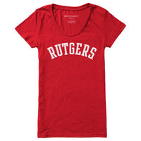 Red Shirt Womens Scoop Tee
