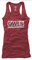 Temple Owls League Women's My Favorite Tri-Blend Tank