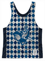 League Womens Argyle Pinnie