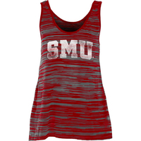 Womens Burnout Stripe Tank