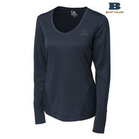 Cutter & Buck Long Sleeve Mogul Vneck (Online Only)