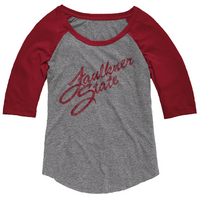 League Anna Triblend Baseball Tee