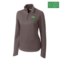 Cutter & Buck Ladies Decatur Pima Half Zip