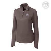 Cutter & Buck Ladies Decatur Pima Half Zip (Online Only)