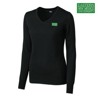 Cutter & Buck Ladies Douglas Vneck Sweater