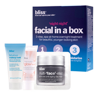 Blissnight night facial in a box