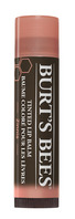 Burts Bees 100% Natural Moisturizing Tinted Lip Balm, Zinnia, 1 Tube
