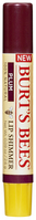 Burts Bees 100% Natural Moisturizing Lip Shimmer, Plum, 1 Tube