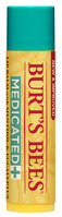 Burts Bees 100% Natural Medicated Moisturizing Lip Balm with Menthol & Eucalyptus, 1 Tube