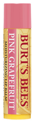 Burts Bees 100% Natural Moisturizing Lip Balm, Pink Grapefruit, 1 Tube