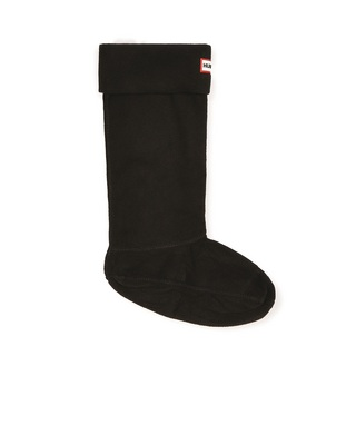 Hunter Boots Boot Sock in Black Large