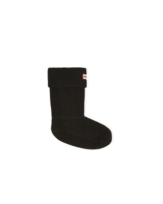 Hunter Boots Short Boot Sock in Black Large